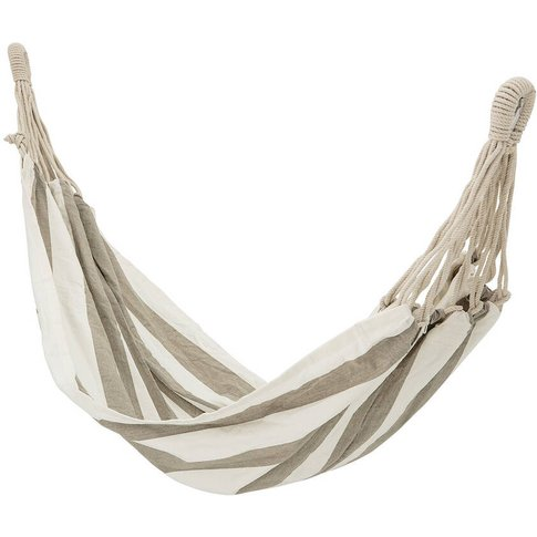 Grey And White Stripe Hammock