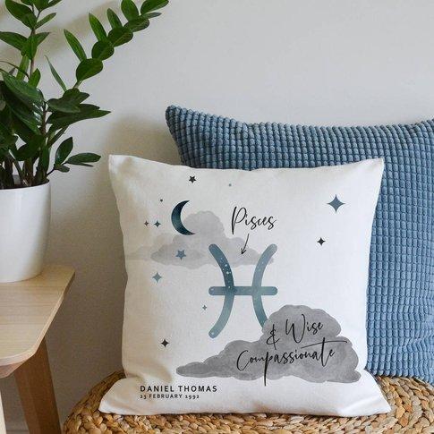 New Zodiac Star Sign Cushion