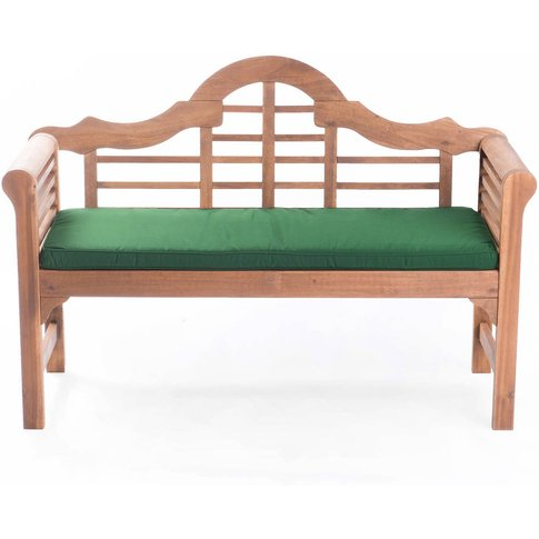 Lutyens Garden Bench And Cushion
