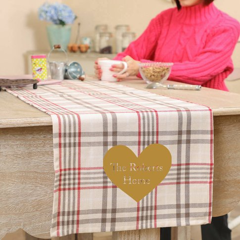 Cairncross Personalised Table Runner
