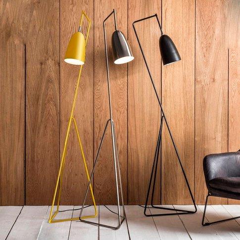 Ochre Floor Lamp, Black/Yellow