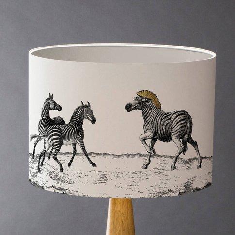 The Dazzle Of Zebras Lampshade