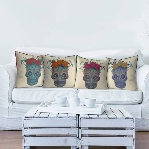 Sugar Skull Cushions