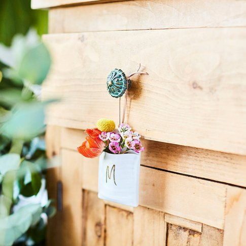 Mini Hanging Ceramic Planter