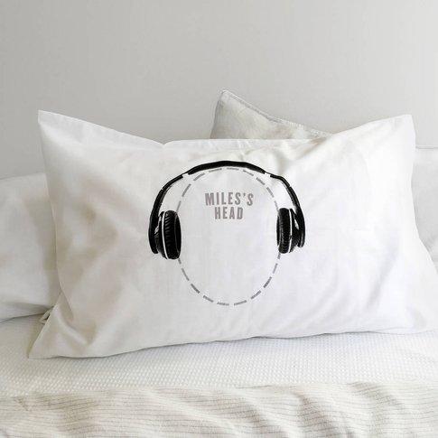 Headphones Pillowcase For Music Lovers Headcase Range