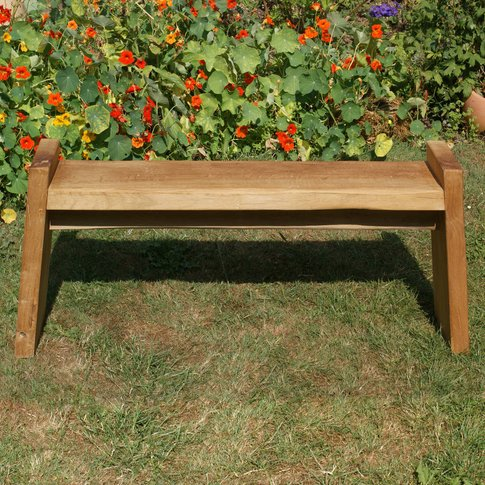 Large Oak Bench