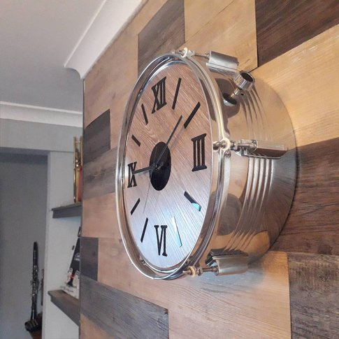 Large Drum Clock