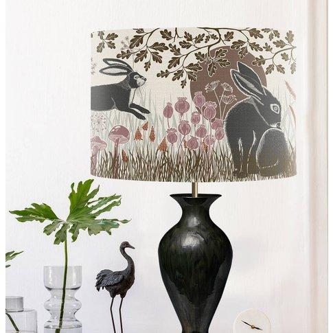 Country Lane Hare Lamp Shade