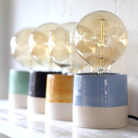 Stylish Hand Thrown Table Lamp