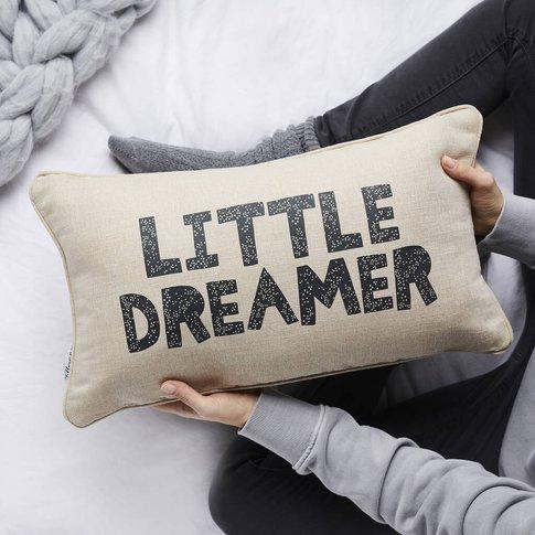 Little Dreamer Juco Linen Cushion