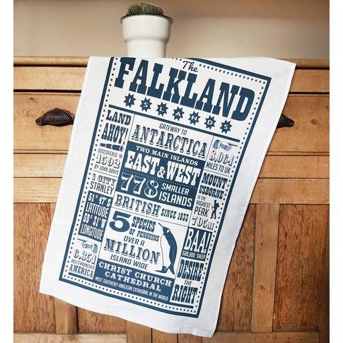 Falkland Islands Tea Towel