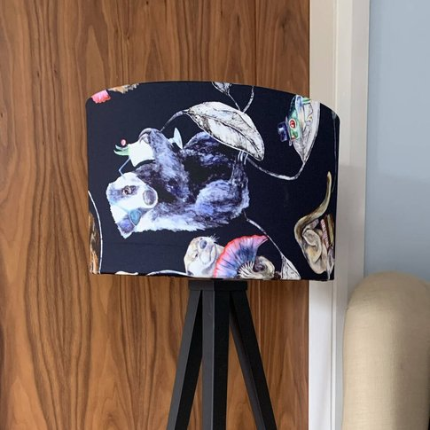 House Of Hackney Country Themed Drum Lampshade
