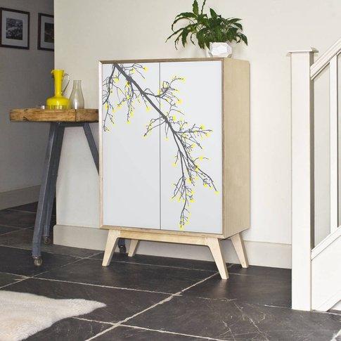 'Blossom' Shelved Cabinet