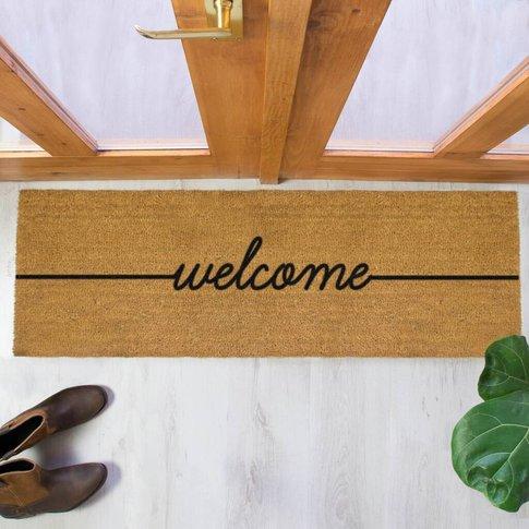 Welcome Double Doormat