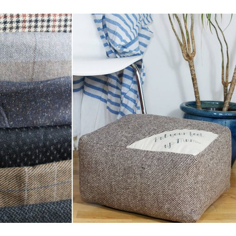 Made To Order Bespoke 'Put Your Feet Up Mum' Footstool