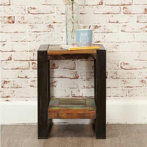 Shoreditch Low Lamp Side Table
