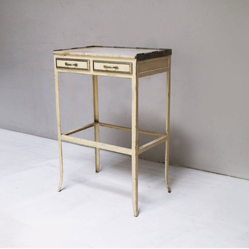 French Vintage Night Stand/Bedside Cabinet