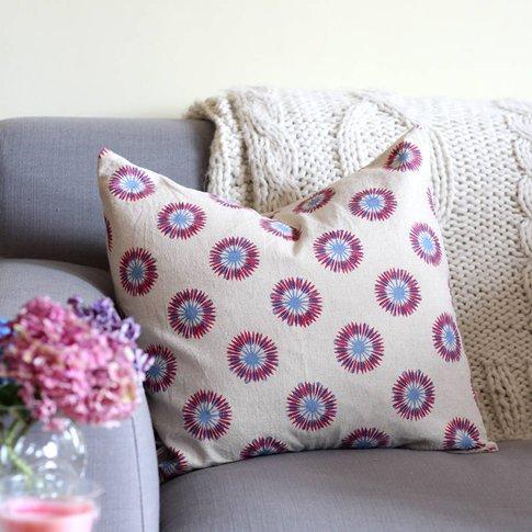 Thistle Print Cushion Cover