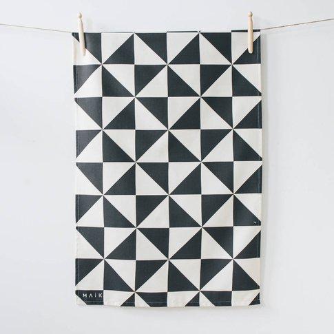 Triangle Organic Cotton Tea Towel