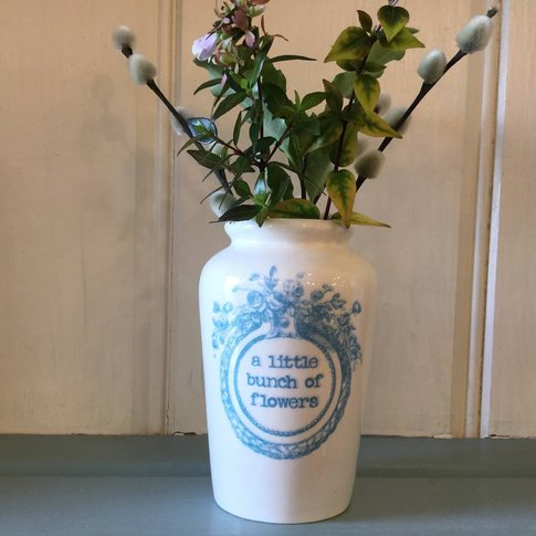 A Little Bunch Of Flowers Vase