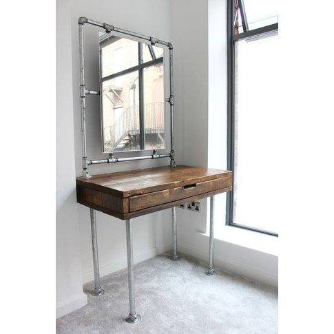 Meila Reclaimed Scaffolding Dressing Table