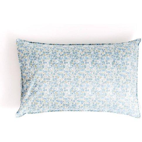 Liberty Print Pillowcase In Poppy And Daisy Blues