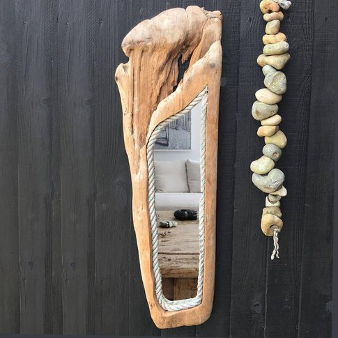 Red Cedar Driftwood Mirror