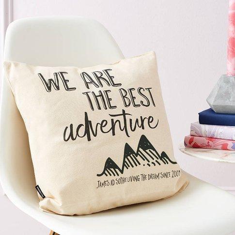 Personalised Adventure Cushion