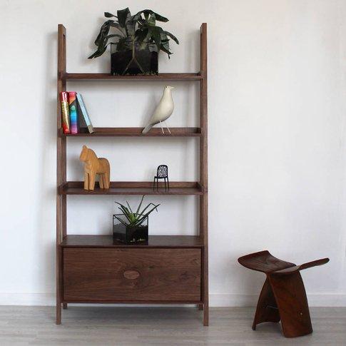 Bond Handmade Walnut Bookcase