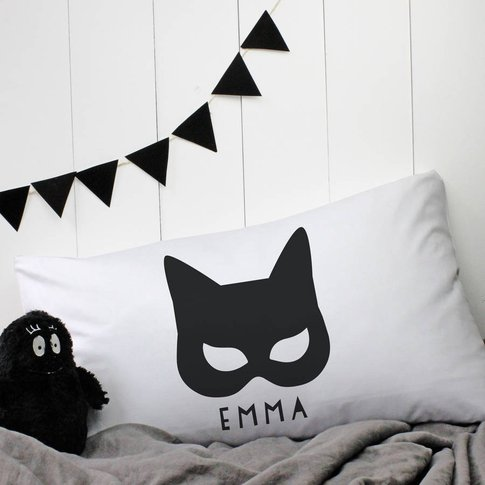 Personalised 'Catwoman' Pillowcase