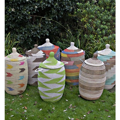 Ethnic Alibaba Laundry Basket Special Apl/Spel