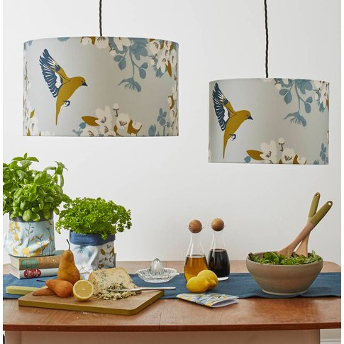 Greenfinch Bird Lampshade