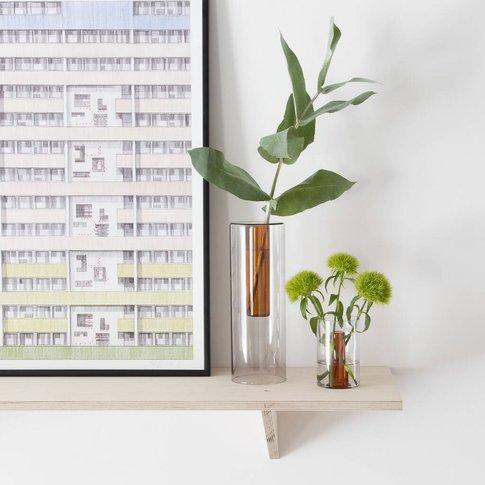 Reversible Glass Vase