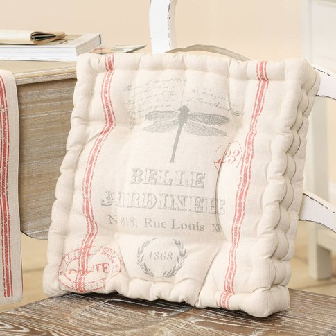 Belle Jardinere French Country Mattress Chair Cushion
