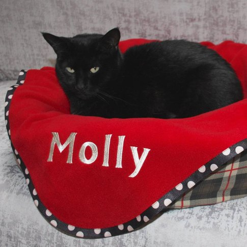 Personalised Cat Blanket