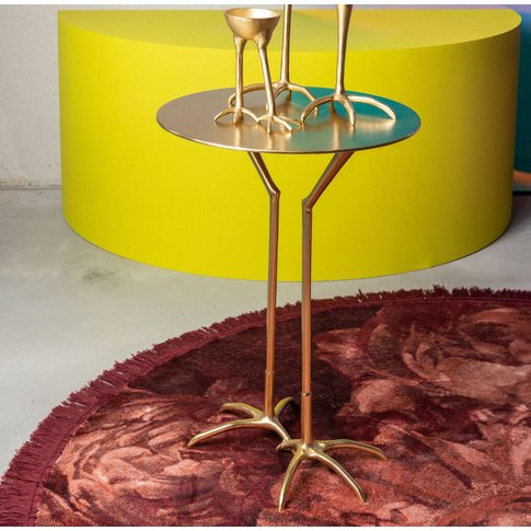 Bold Monkey The Golden Heron Side Table