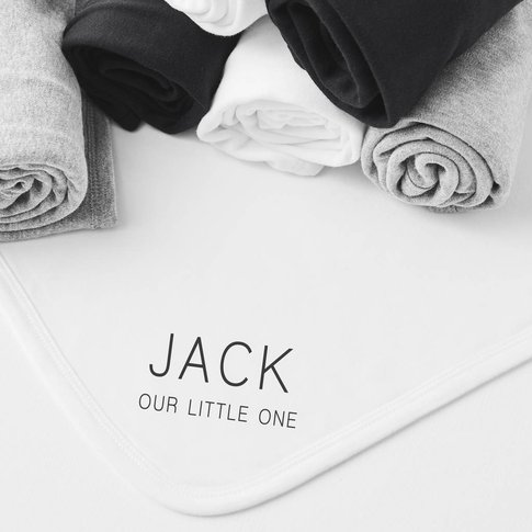 Mini Message Personalised Blanket