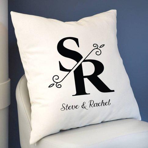 Personalised Monogrammed Cushion