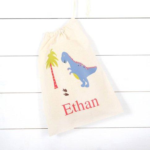 Personalised Dinosaur Children's Storage Bag