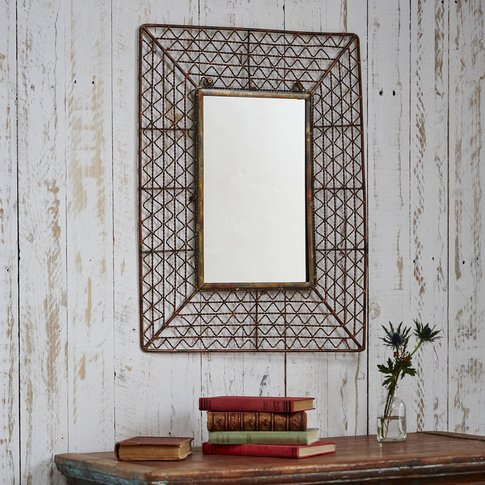 Soha Industrial Wire Mirror