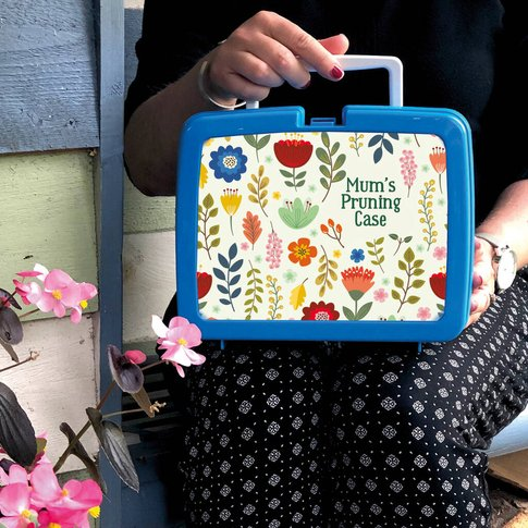 Personalised Floral Garden Storage Gift Case