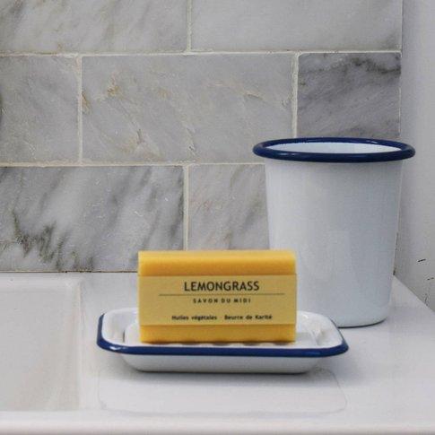 Traditional Enamel Soap Dish