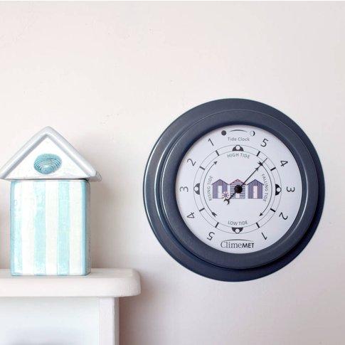 Customisable Beach Huts Tide Clock
