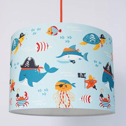 Pirate Fish Handmade Paper Lampshade