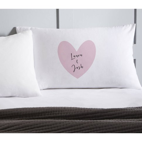 Personalised Valentines Pillowcase