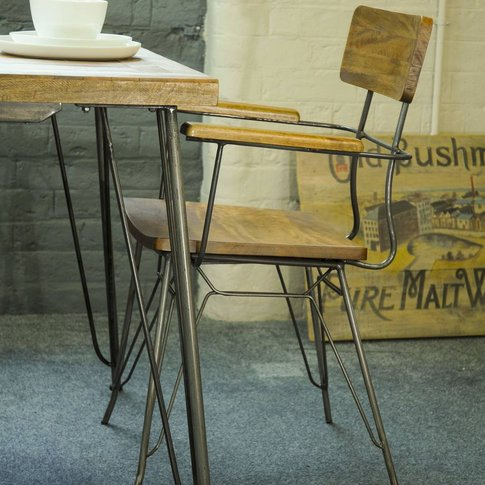 Hairpin Dining Desk Chair
