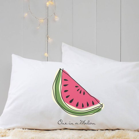 Personalised 'Fruit' Pillow Case