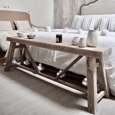 Granary Reclaimed Wood Bench