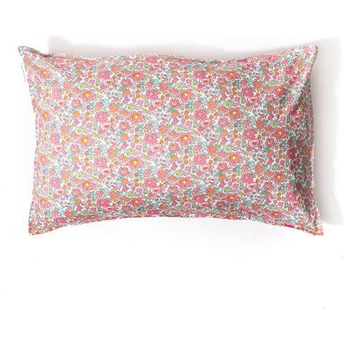 Pillowcase Made With Liberty Fabric 'Betsy Pink'