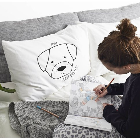 Personalised 'Dog' Pillow Case